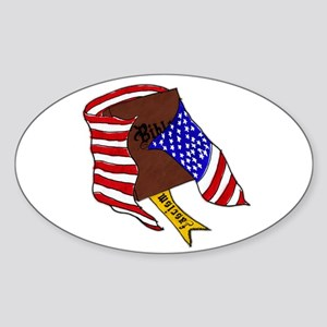 Fascism in the USA Sticker (Oval)