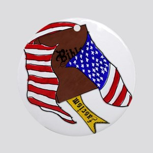 Fascism in the USA Ornament (Round)