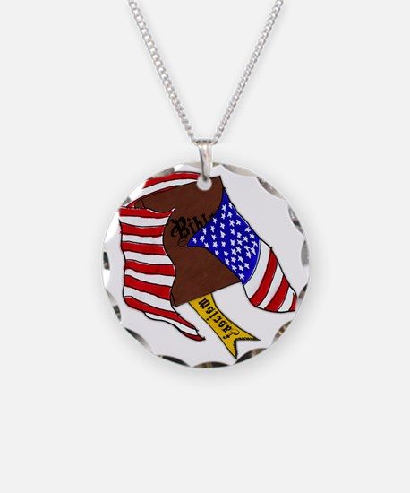 Fascism in the USA Necklace