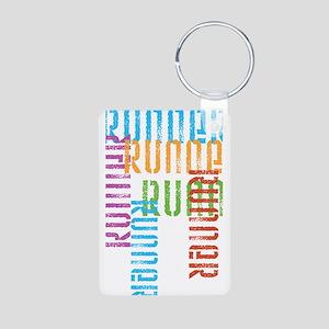 Run Off Variety Aluminum Keychain