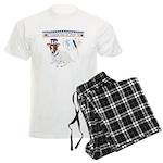 Happy 4th of July Men's Light Pajamas
