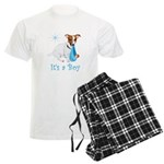 Jack Russell, It's A Boy Gifts Men's Light Pajamas