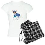 Jack Russell Scrubs Women's Light Pajamas
