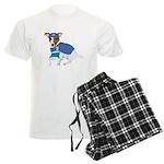 Jack Russell Scrubs Men's Light Pajamas