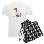 Jack Russell Terrier Graduation Men's Light Pajama