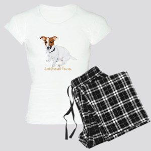 Jack Russell Terrier Painting Women's Light Pajama