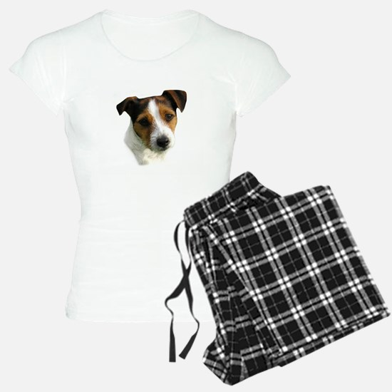 Jack Russell Watercolor Pajamas