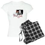 Pirate Jack Russell Women's Light Pajamas