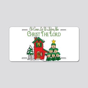 Christmas Carol Series Aluminum License Plate