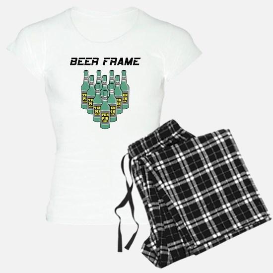 Beer Frame Bowling Pajamas