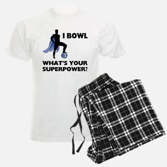 Bowling Superhero Pajamas