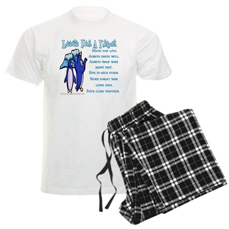 Lessons From a Penguin Men's Light Pajamas