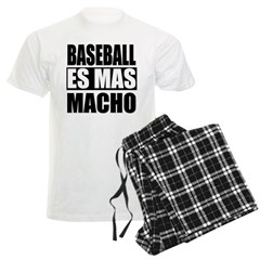 Baseball Es Mas Macho Pajamas