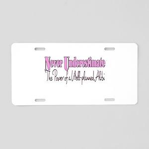 alibi Aluminum License Plate