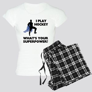 Hockey Superhero Women's Light Pajamas