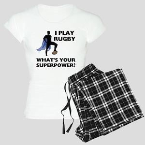 Rugby Superhero Women's Light Pajamas
