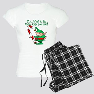 Candy Cane Elf Women's Light Pajamas