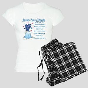 Penguin Lessons Women's Light Pajamas