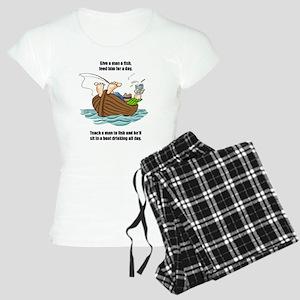 Give A Man A Fish Women's Light Pajamas