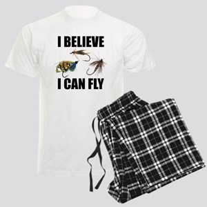 I Believe I Can Fly Men's Light Pajamas