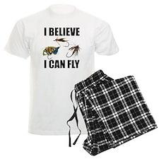 I Believe I Can Fly Men's Light Pajamas