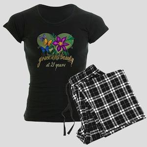 Beautiful 21st Women's Dark Pajamas