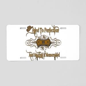 Memorable 95th Aluminum License Plate