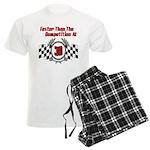 Racing At 30 Men's Light Pajamas