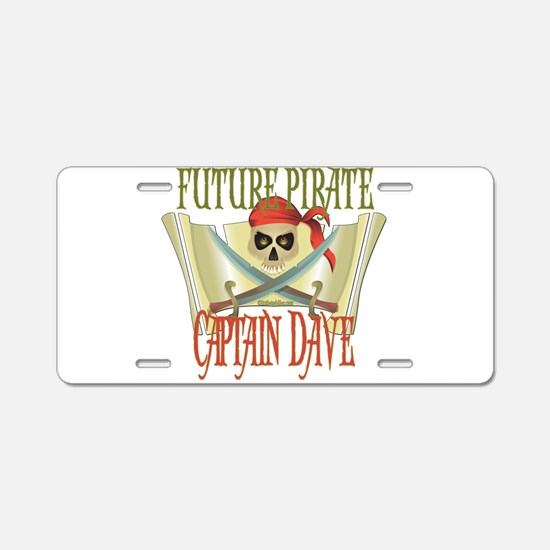 Future Pirates Aluminum License Plate