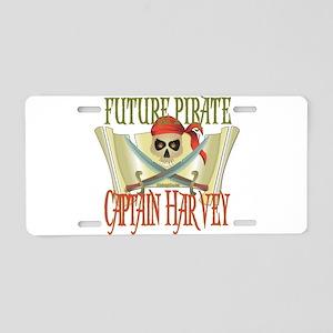 Captain Harvey Aluminum License Plate