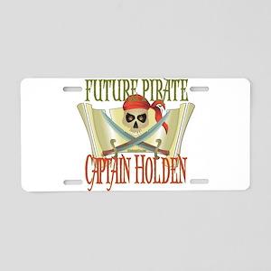 Captain Holden Aluminum License Plate