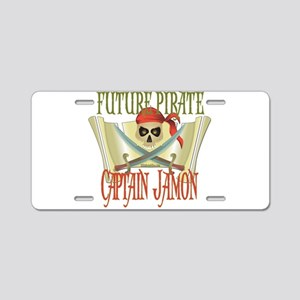 Captain Jamon Aluminum License Plate