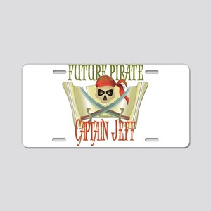 Captain Jeff Aluminum License Plate