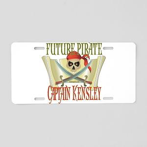 Captain Kensley Aluminum License Plate