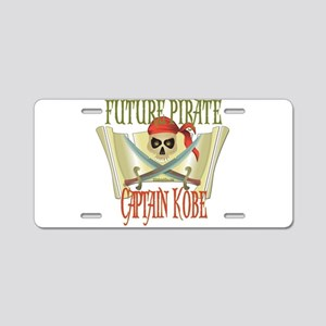 Captain Kobe Aluminum License Plate