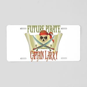 Captain Larry Aluminum License Plate