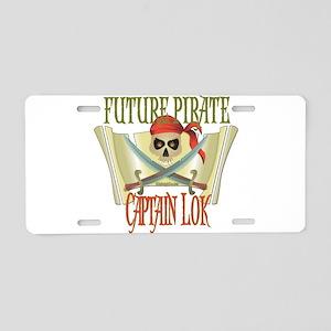 Captain Lok Aluminum License Plate