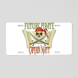 Captain Matt Aluminum License Plate