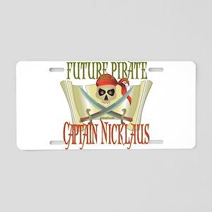 Captain Nicklaus Aluminum License Plate