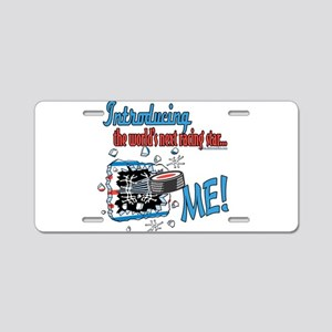 Future Racing Star Aluminum License Plate