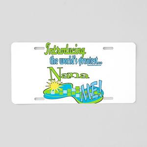 Best Nana Aluminum License Plate