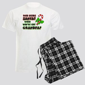 Santa? Grandpa! Men's Light Pajamas