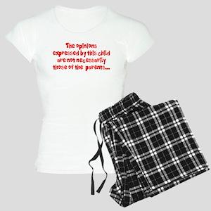Child's Opinion Women's Light Pajamas