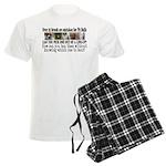 Doggie Line-up Men's Light Pajamas