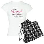 Scrapbooking in Heaven Women's Light Pajamas