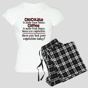 Chocolate & Coffee Women's Light Pajamas