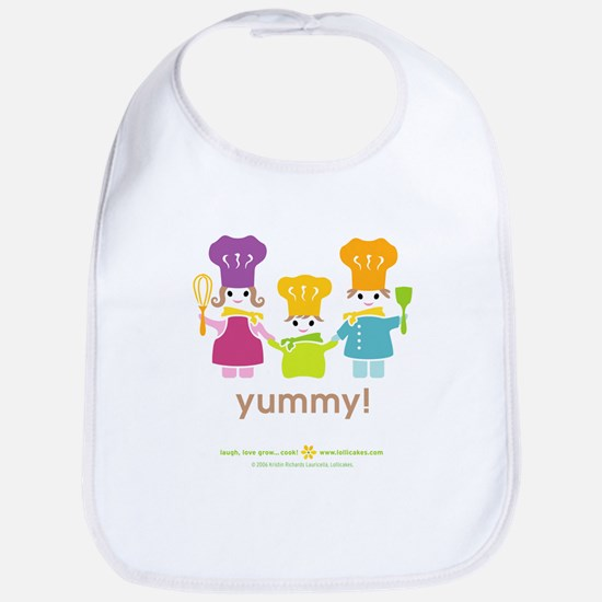 Family of Chefs Baby Bib