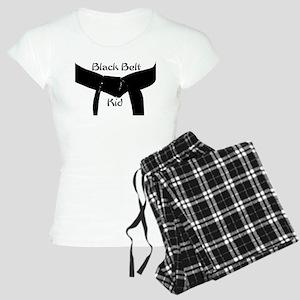 Black Belt Kid Women's Light Pajamas
