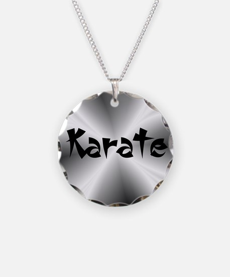 Silver Karate Necklace