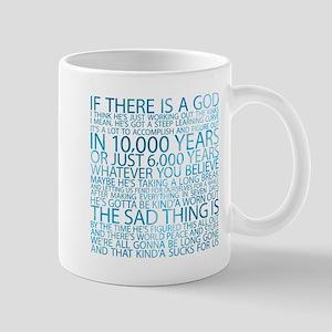 God's working on it Mug
